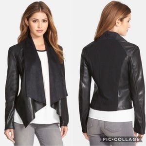 Kut from the Kloth | Ana Black Faux Leather Jacket